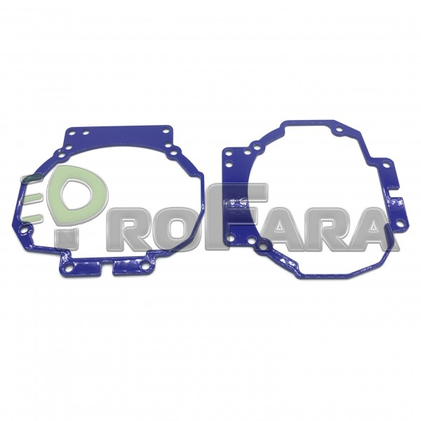 Переходные рамки для Toyota Camry V40 дорестайл  в модуль Hella 3R (Комплект 2 шт)